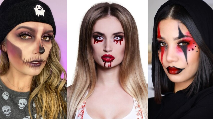 10 make-up d'Halloween faciles à faire