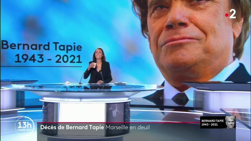 Bernard Tapie : Leïla Kaddour surprise en train de rire durant la diffusion d'hommages sur France 2