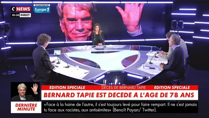 Mort de Bernard Tapie : l'énorme coup de gueule de son fils Laurent en direct sur CNews