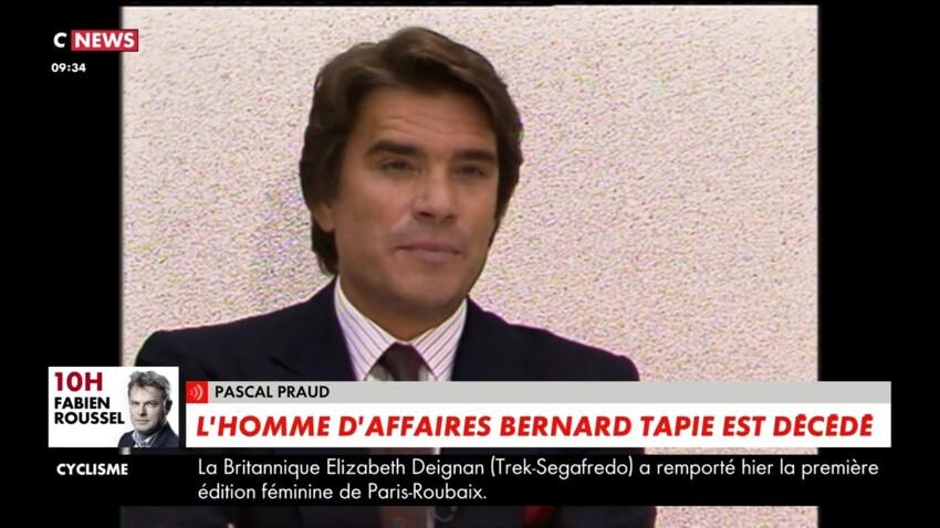 Mort de Bernard Tapie : les révélations de Pascal Praud sur ses derniers instants