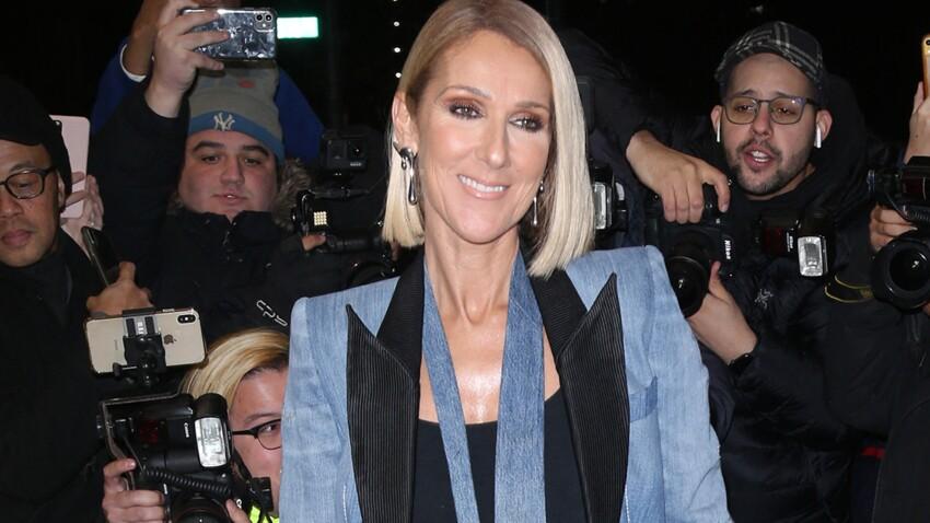 Céline Dion méconnaissable en cuir, jean troué et cheveux tout bouclés (incroyable!)