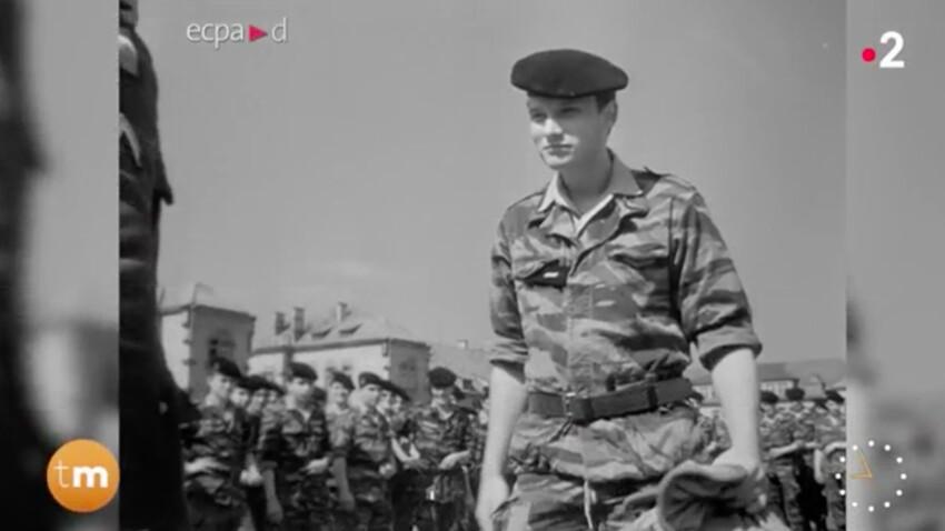 Johnny Hallyday : découvrez les images inédites de son service militaire
