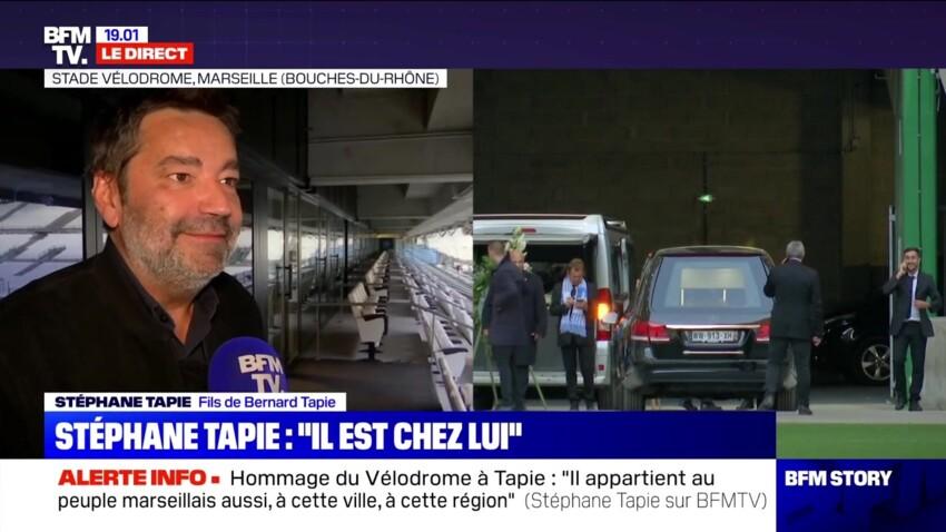 Hommage de Bernard Tapie au Vélodrome : les mots poignants de son fils Stéphane