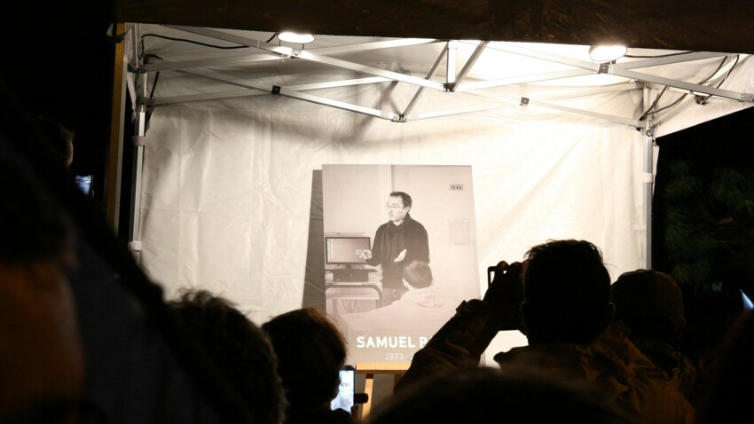 Mort de Samuel Paty : les établissements scolaires lui rendront hommage le 15 octobre 2021