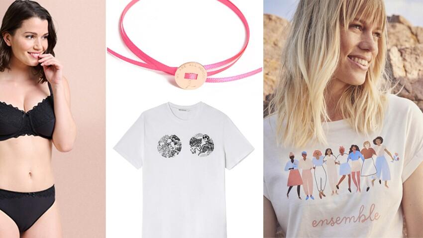 Octobre Rose et cancer du sein : les marques de mode s'engagent pour la bonne cause