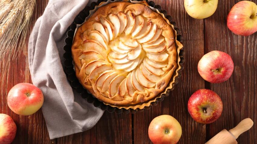La recette facile de tarte aux pommes d'Eric Kayser