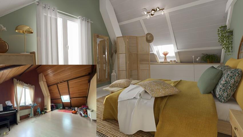Avant / après : 6 idées de pro pour transformer le salon, la chambre, la salle de bain...