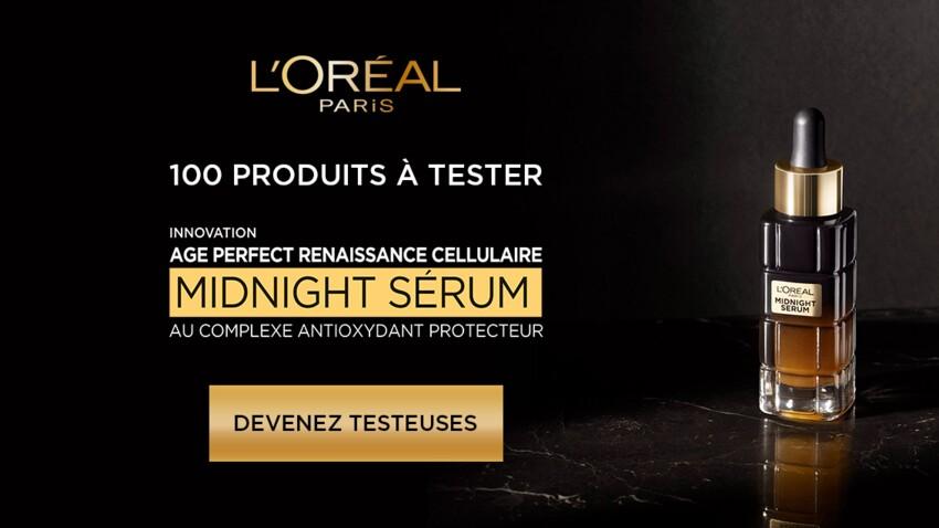 Testez gratuitement le Midnight Sérum de L'Oréal Age Perfect