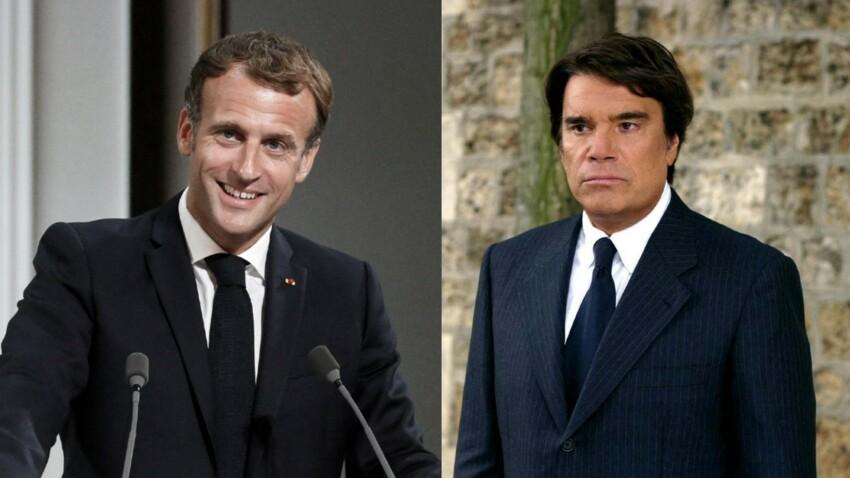 Bernard Tapie et Emmanuel Macron : les dessous de leurs rendez-vous secrets à l'Élysée