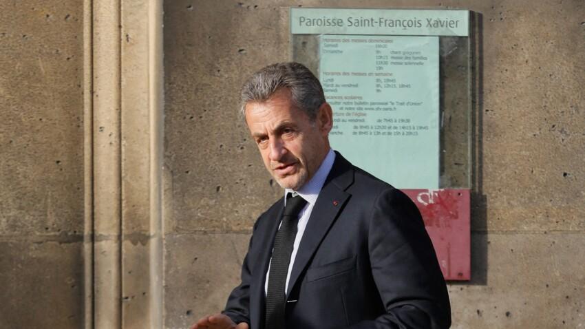 Michel Drucker, PPDA, Claire Chazal, Nicolas Sarkozy… Les stars réunies aux obsèques d'Etienne Mougeotte - PHOTOS