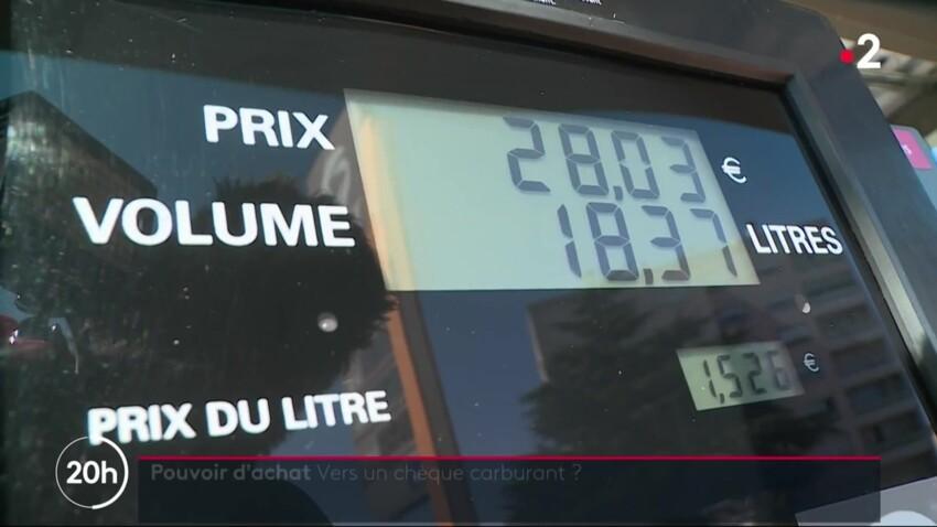 """Bientôt un """"chèque carburant"""" ? La réponse du gouvernement"""