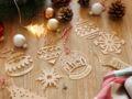 DIY : de jolies suspensions en bois pour votre sapin de Noël