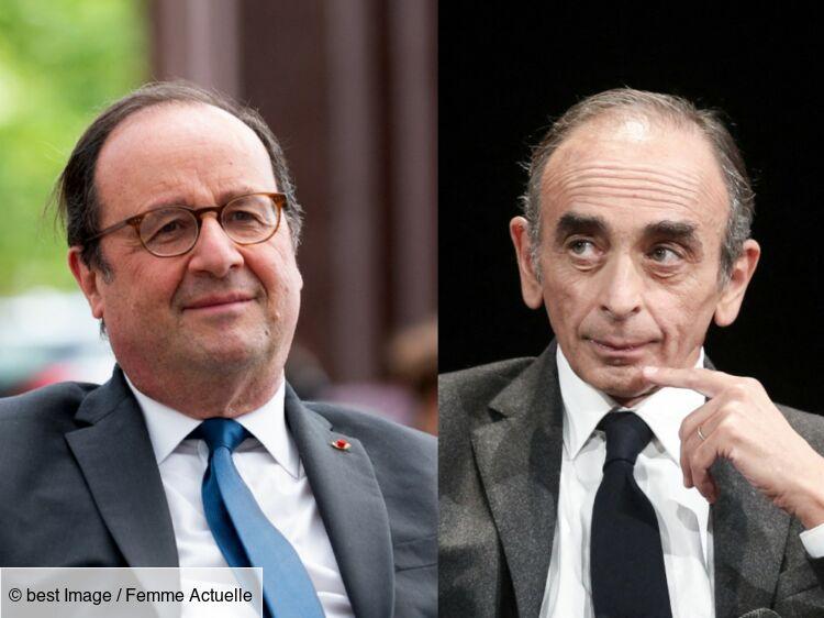 François Hollande révèle ce qu'il pense vraiment d'Eric Zemmour