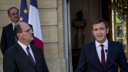 """Olivier Véran """"dissipé"""" : Jean Castex le recadre avant son discours"""