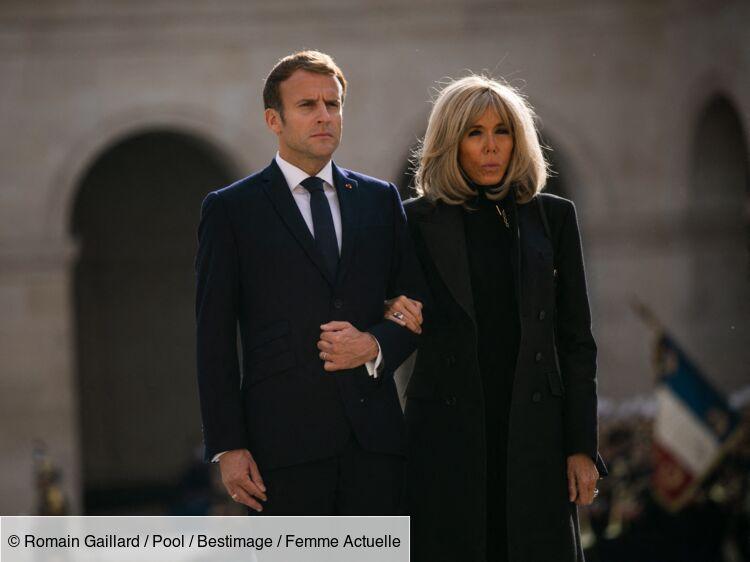 """""""Ne le répétez pas"""" : la drôle de confession de Brigitte Macron sur son mari lors d'un déplacement"""
