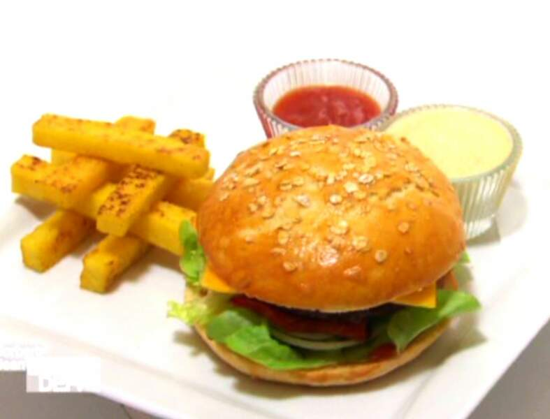 Le burger light de Norbert et Jean