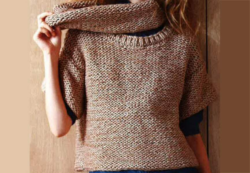 Le pull cocooning