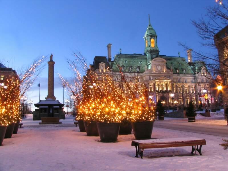 Montréal à Noel