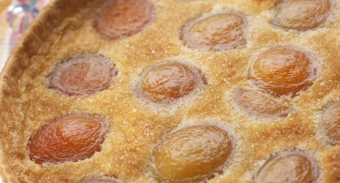 Tarte aux abricots facile