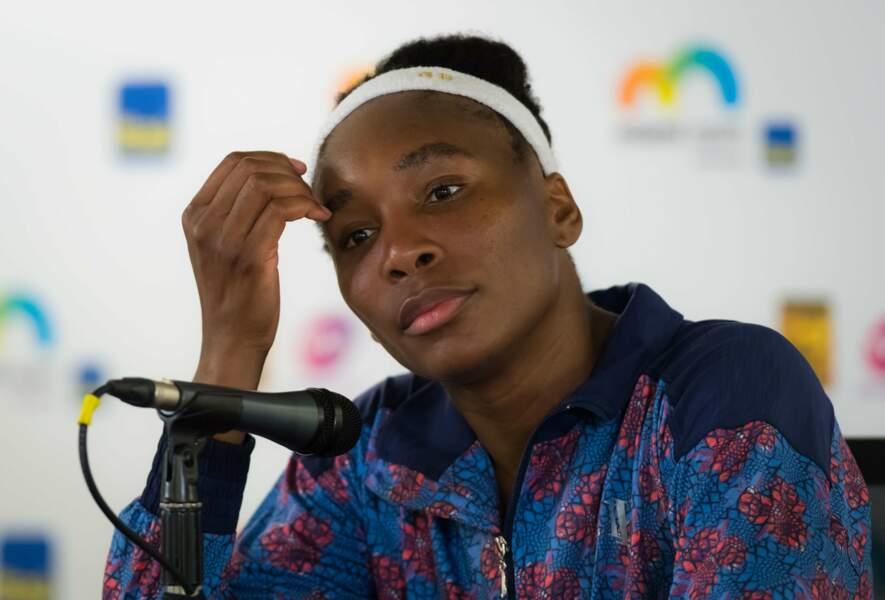 Venus Williams, atteinte du syndrome de Gougerot-Sjögren
