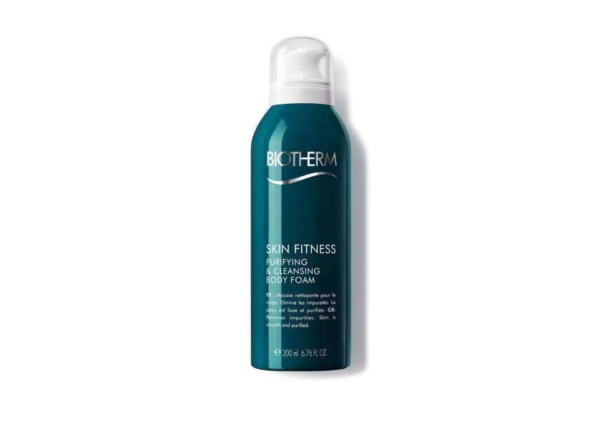 Skin Fitness Oxygenating Body Cleansing Foam, Biotherm