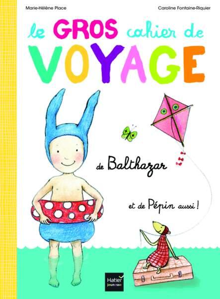 Montessori : le gros cahier de voyage de Balthazar - hatier
