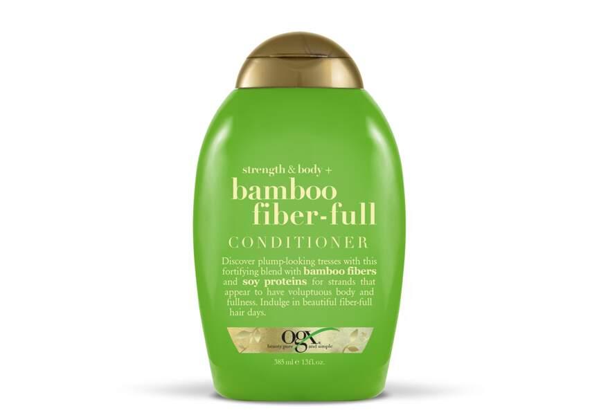Après-Shampooing Bamboo Fiber-Full d'OGX