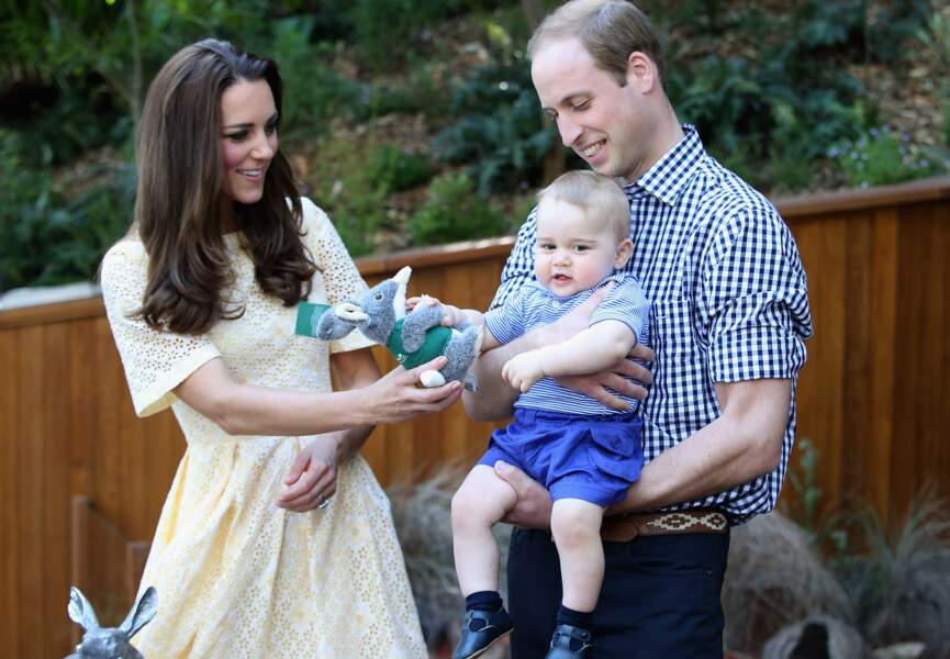 Prince George, le fils de Kate Middleton et du Prince William