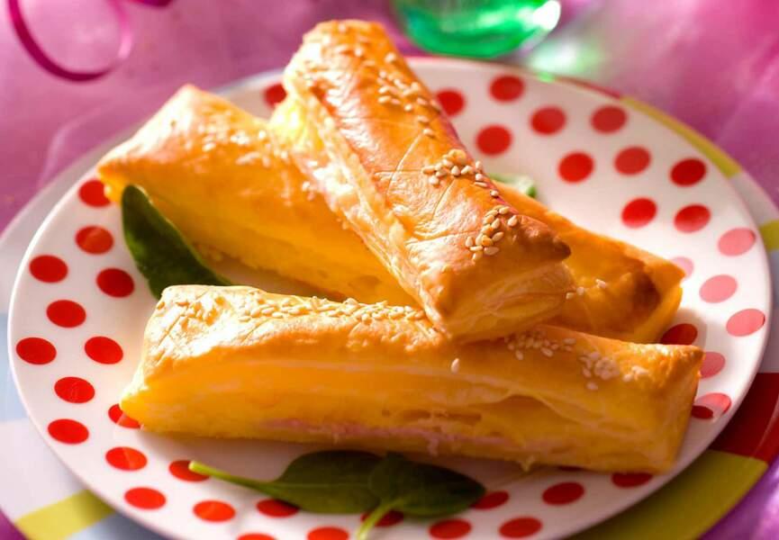 Allumettes au fromage et au jambon