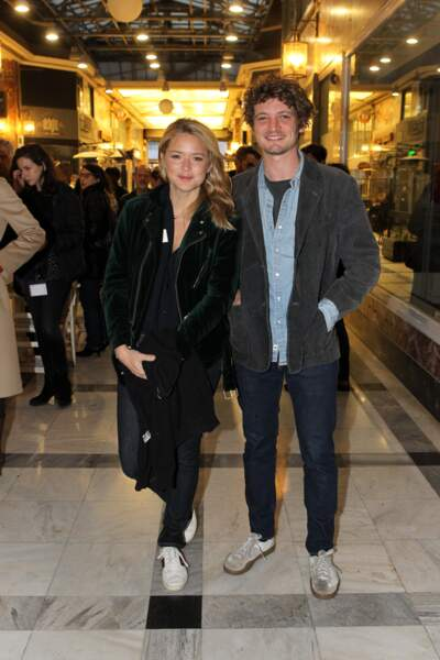 Virginie Efira et Niels Schneider au festival du film français à Athènes, le 6 avril 2019