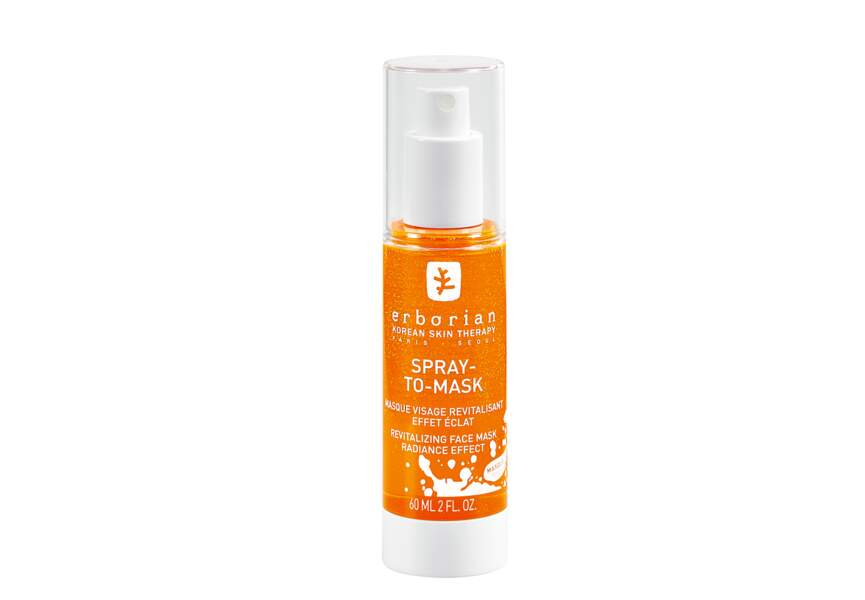 Le Masque visage revitalisant effet éclat Spray-to-mask Erborian