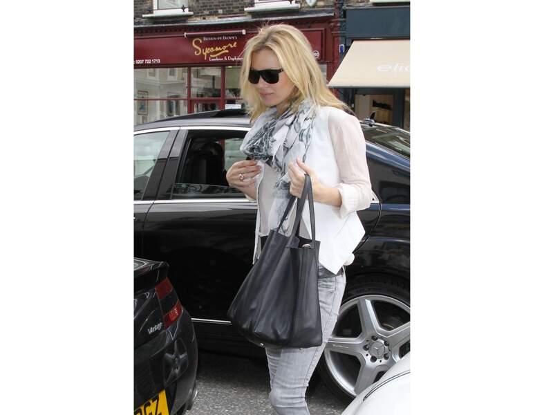 Kate Moss : le sac cabas