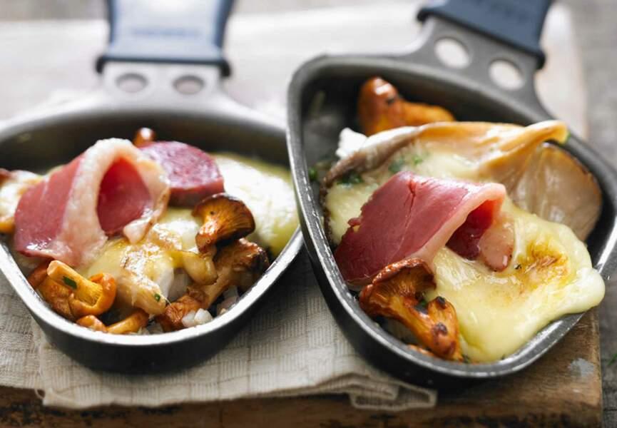 Raclette forestière