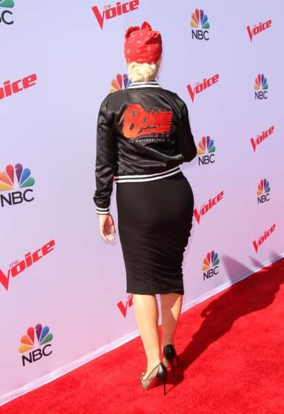 Elle vient de remporter The Voice US en tant que jurée...