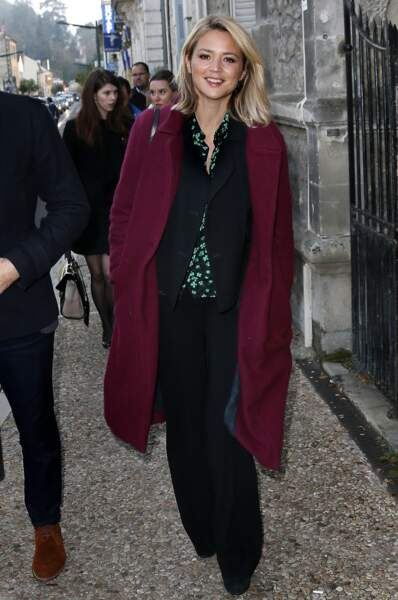 Look Virginie Efira : mix and match
