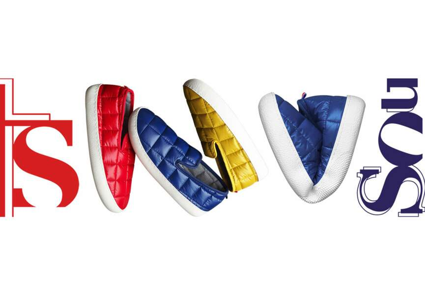Le sneaker doudoune de Souts