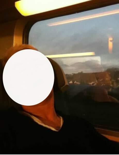 Qui s'endort dans un train ?