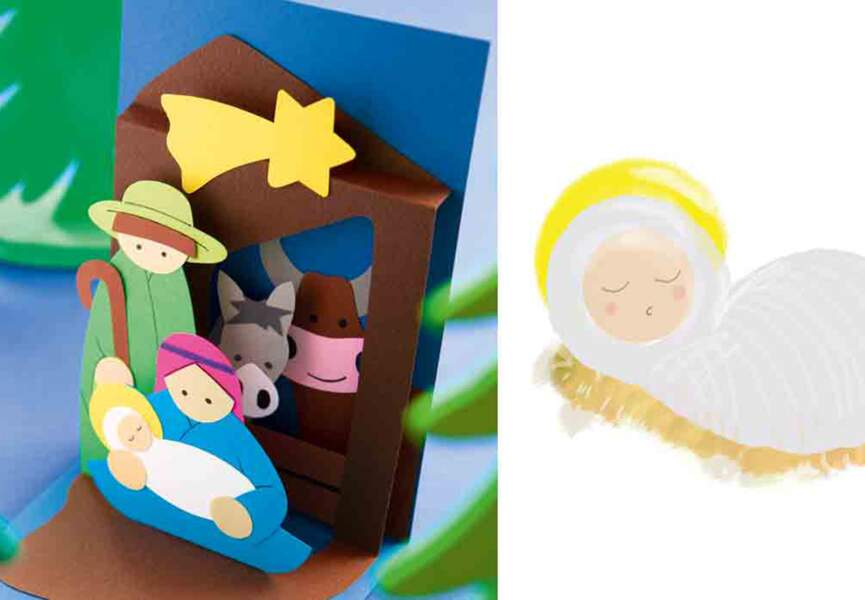 Une crèche de Noël originale
