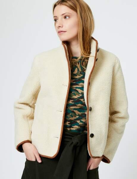 Manteau tendance: court