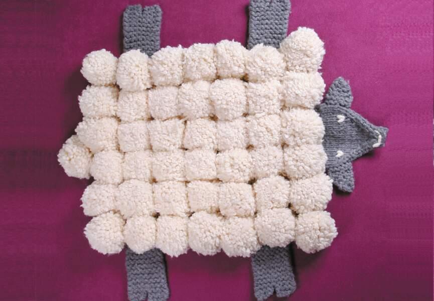 Un mouton à plat