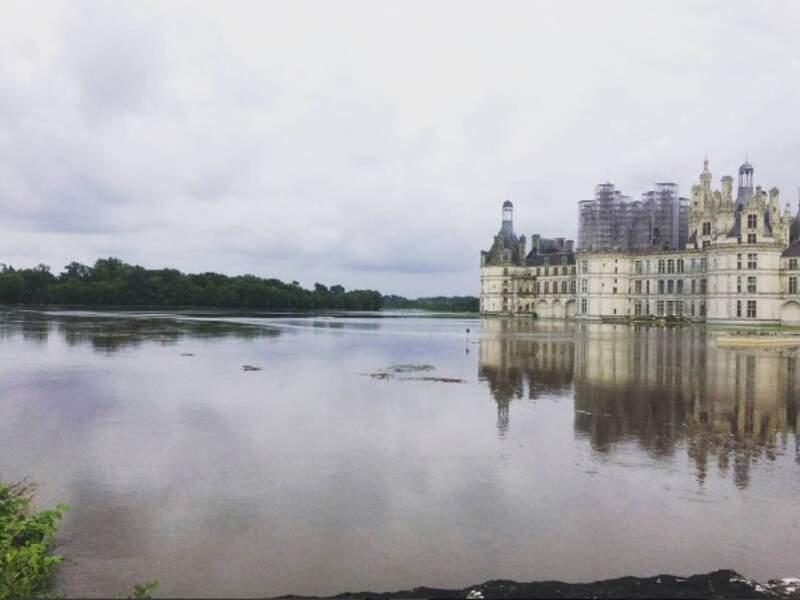 Château de Chambord : ce serait presque beau si ces intempéries n'étaient pas dramatiques