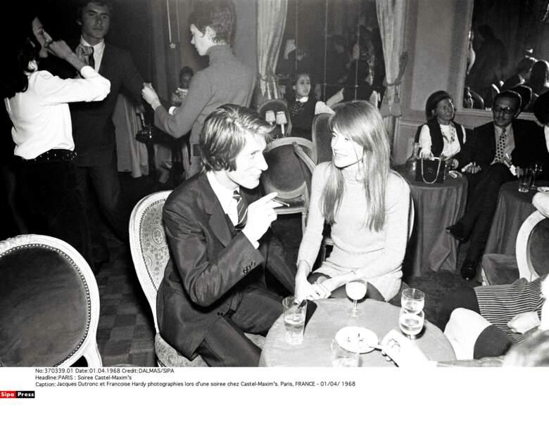 Françoise Hardy et Jacques Dutronc...