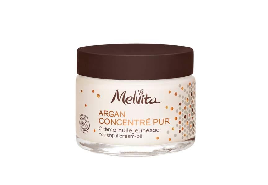 La Crème-huile jeunesse Argan Concentré pur Melvita