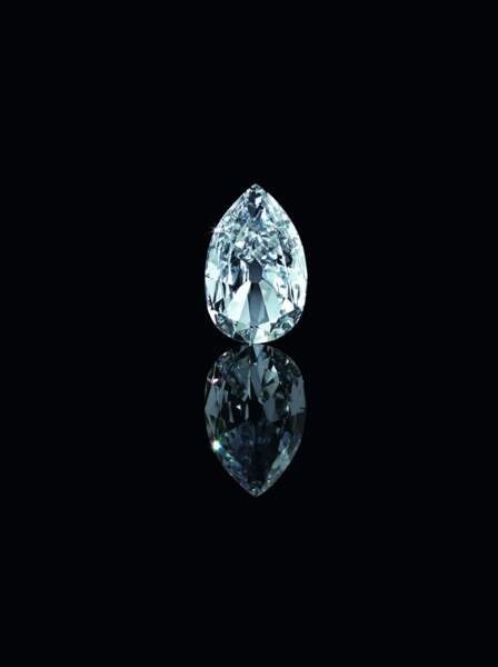 L'Arcot II, un diamant datant de 1760, retaillé en 1959 et 2011