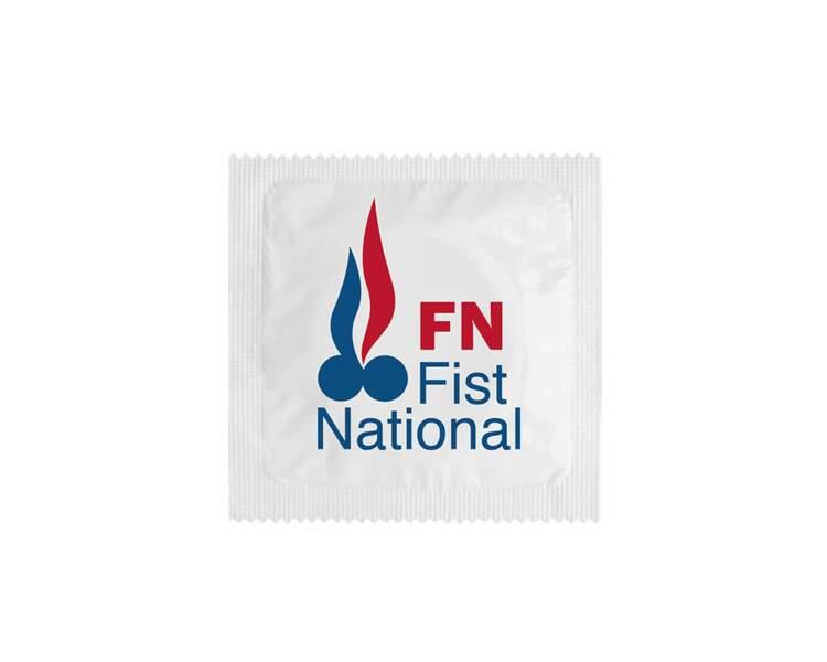 Préservatif spécial Présidentielle : FN Fist National