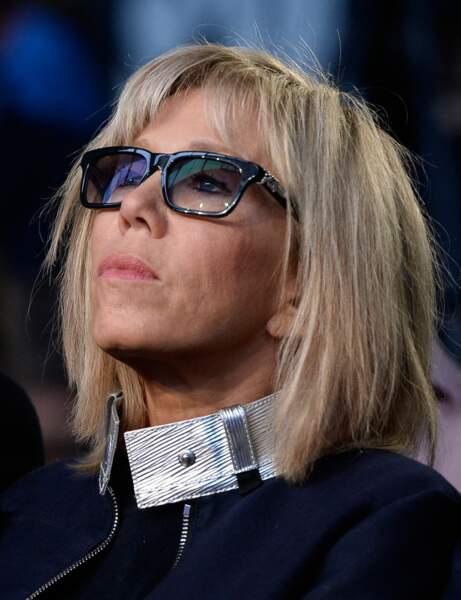 Brigitte Macron : la frange effilée