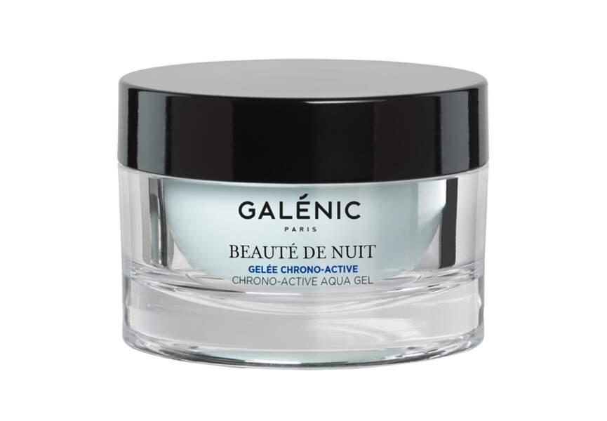 MEILLEUR SOIN SPÉCIFIQUE :  Beauté de Nuit, Gelée Chrono-Active, Galénic
