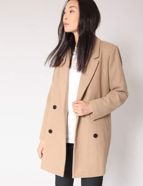 Manteau tendance: camel