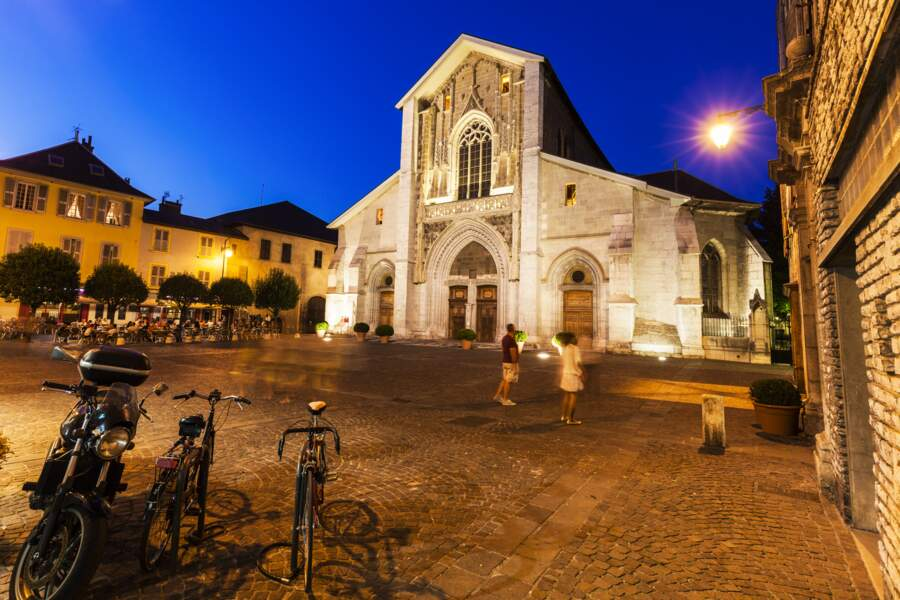 Plus d'une centaine de kilomètres sont aménagés à Chambéry pour les cyclistes