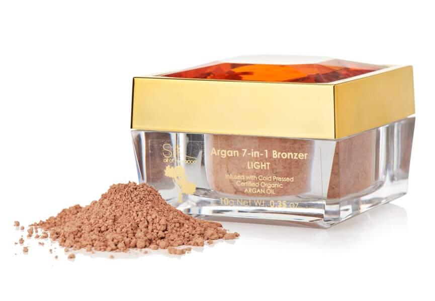 Poudre bronzante 7-en-1, Silk oil of Morocco, sur Qvc.fr : pour les plus connectées